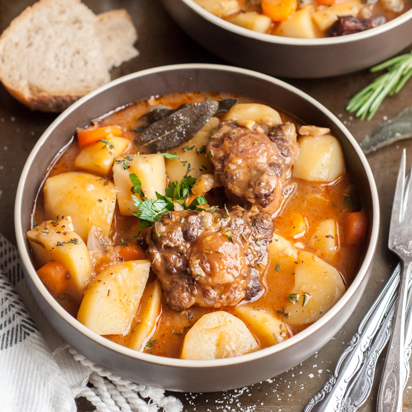 Pressure Cook Recipes: Pressure Cooker Oxtail Stew