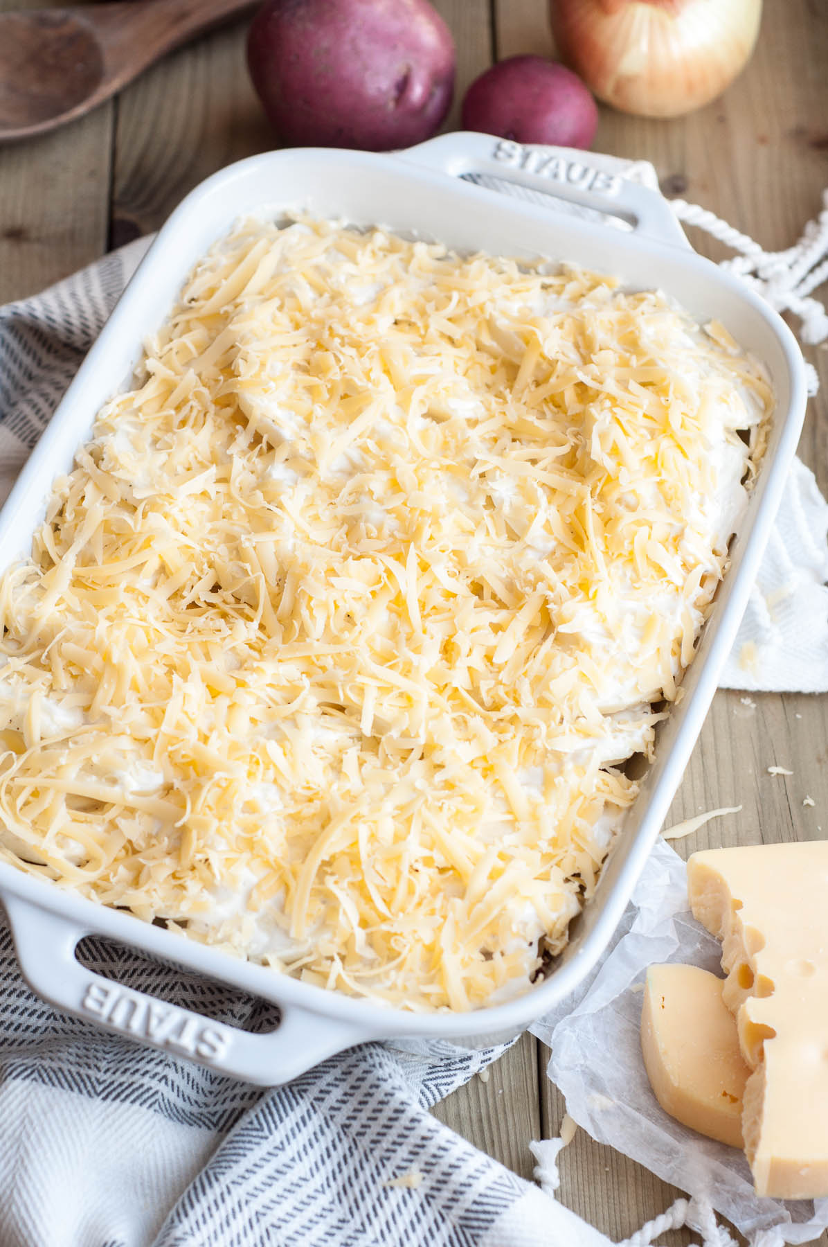 Ultimate Scalloped Potatoes with Pork