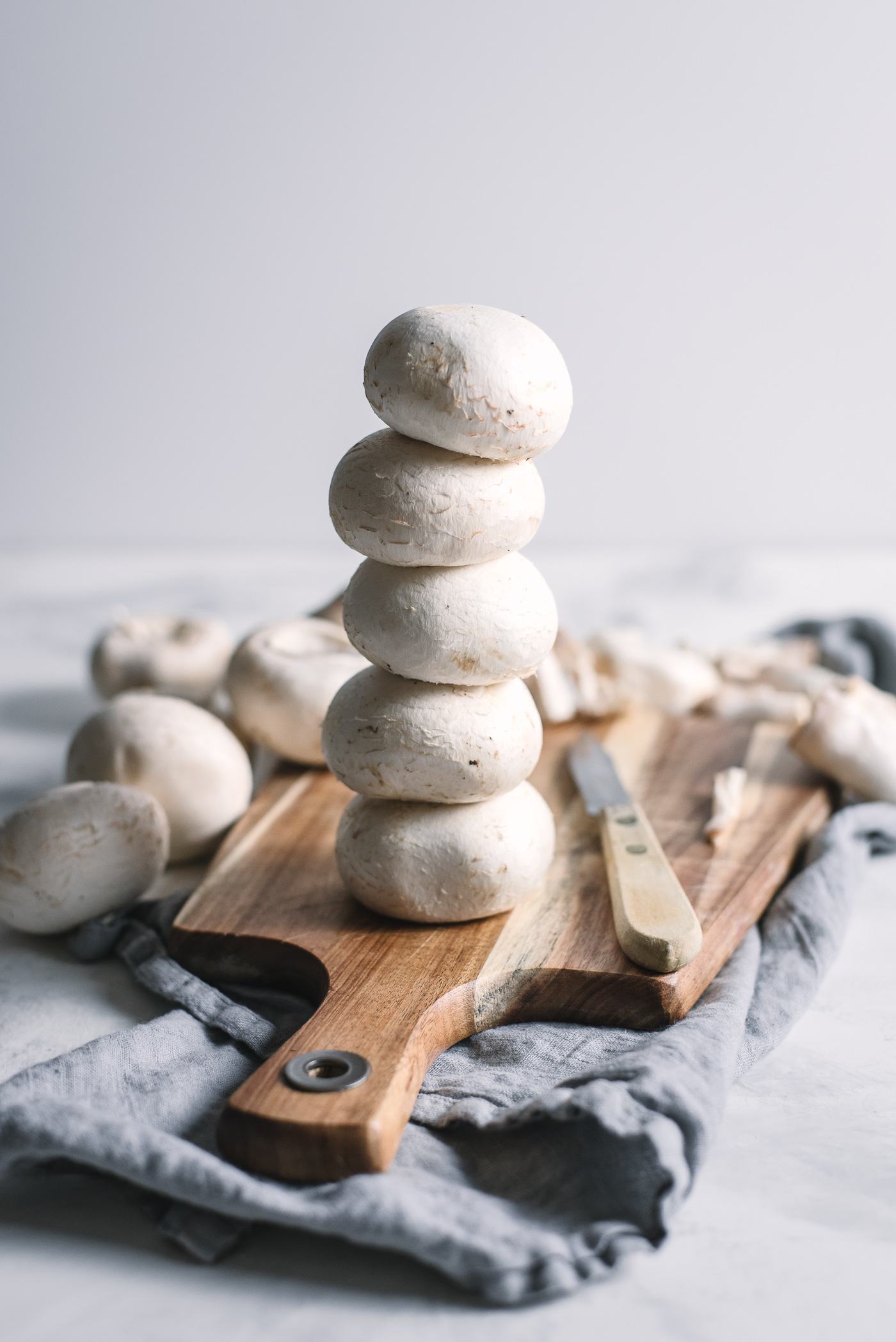 Creamy Stuffed Mushrooms