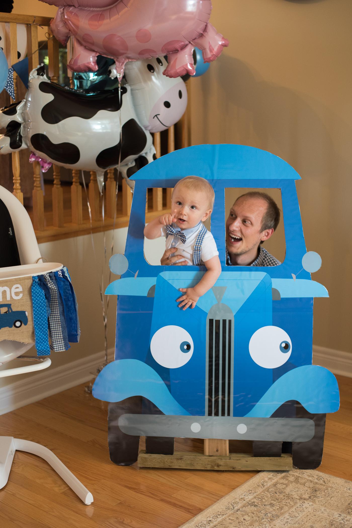 Little Blue Truck Birthday Party Gastrosenses