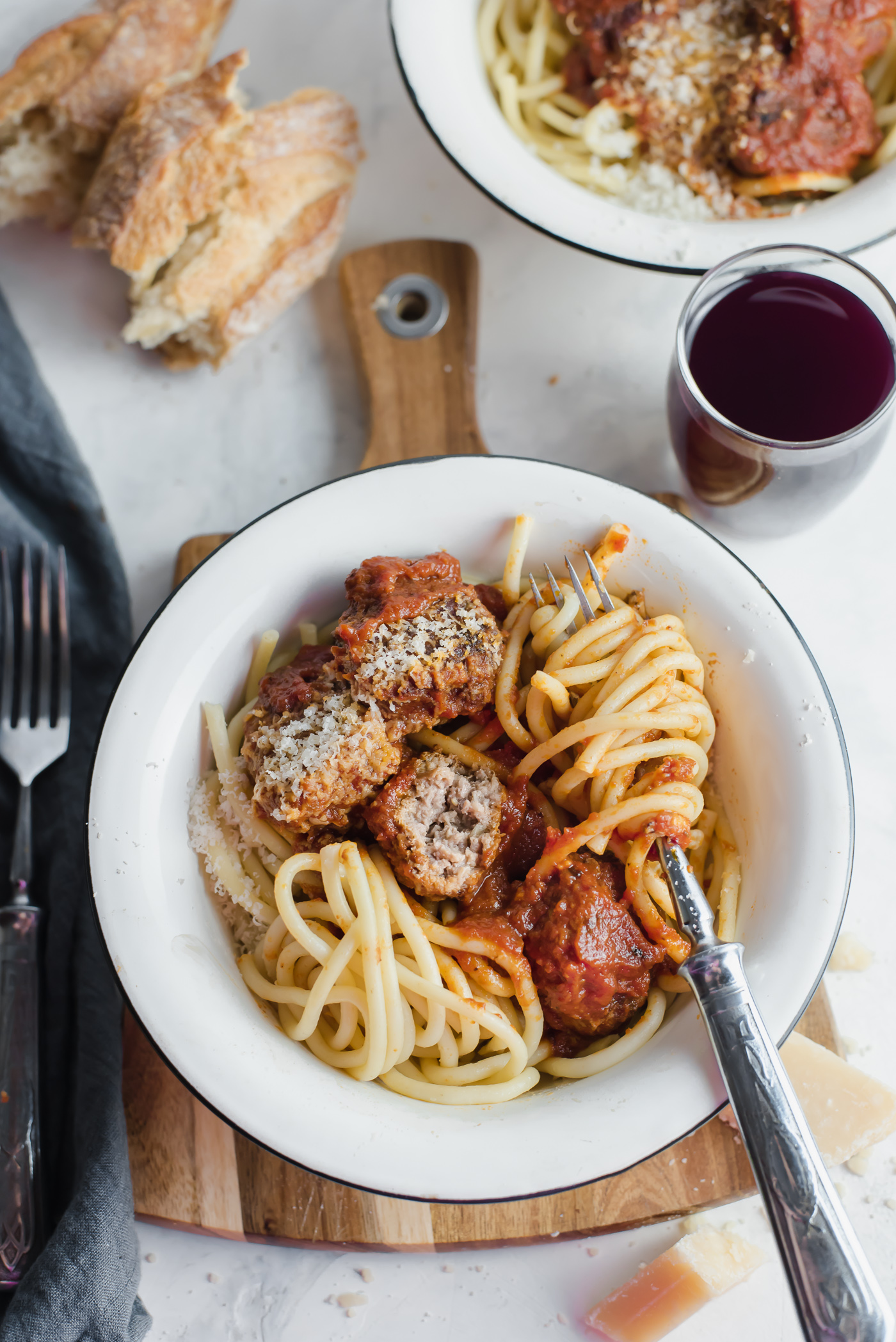 Classic Italian Meatballs and Best Tomato Sauce