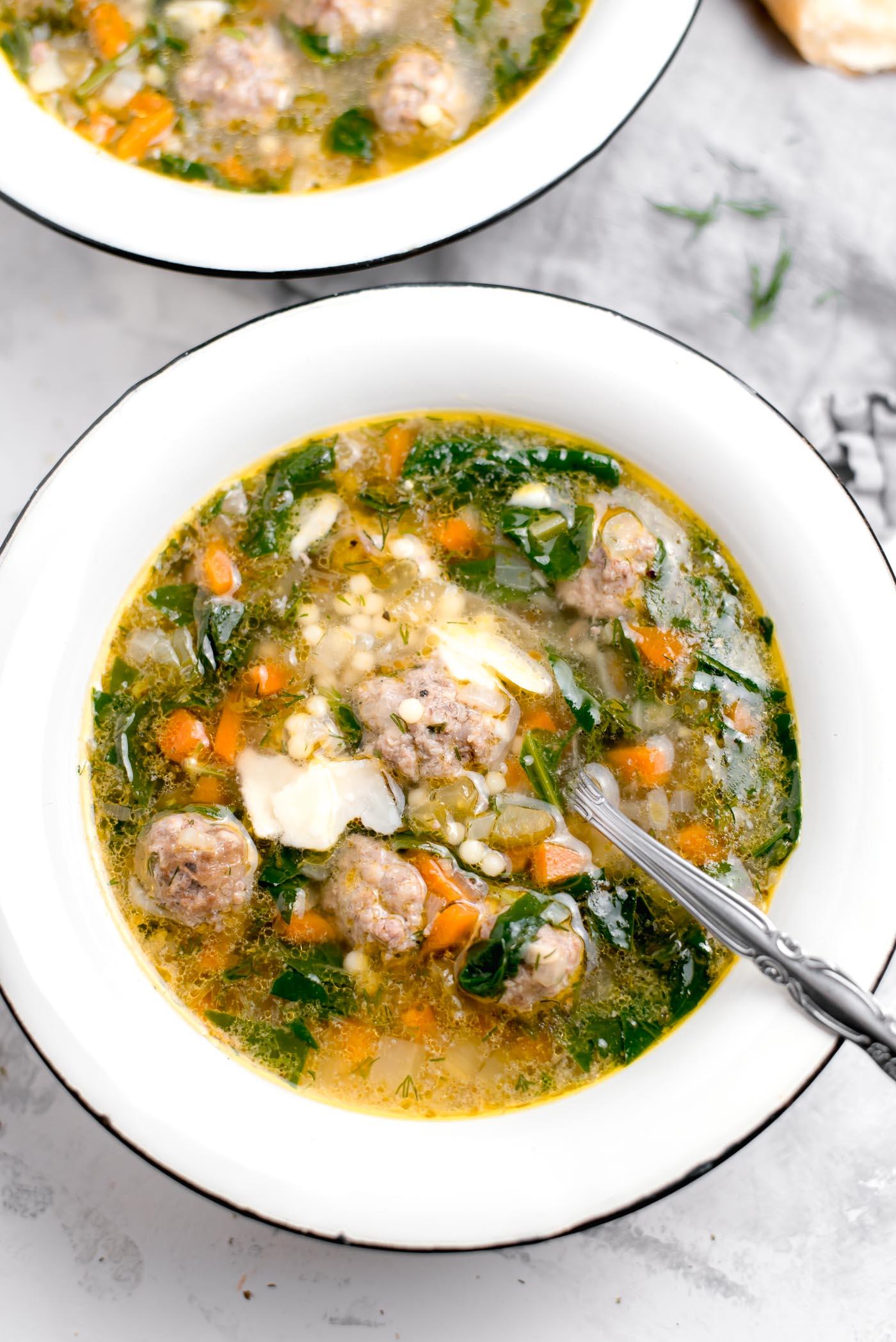 Italian Wedding Soup Can.Hearty Italian Wedding Soup