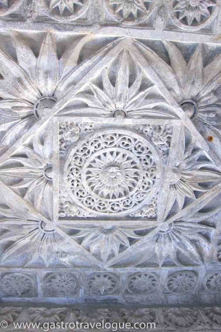 GEOMETRIC PATTERNED CEILINGS AT RANAKPUR TEMPLE