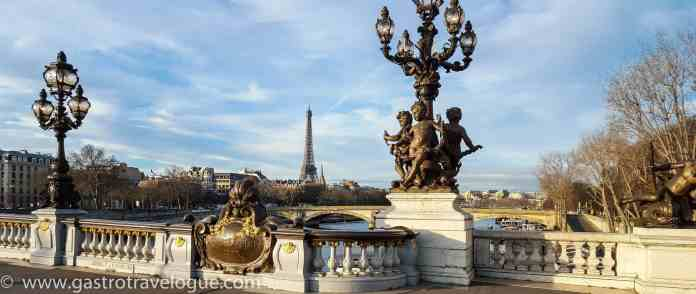 PONT ALEXANDER III AND THE EIFFEL TOWER