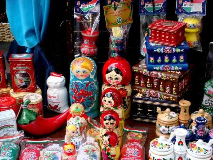 Budapest Market souvenirs