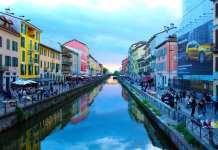 Navigli canal Milan