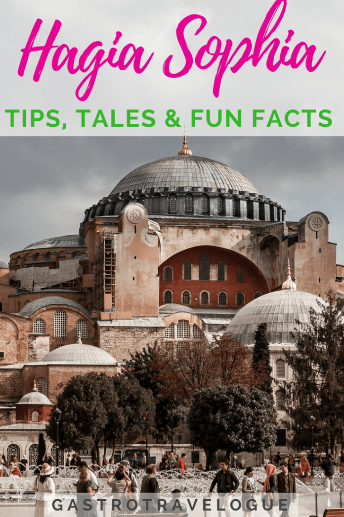 Visiting the Hagia Sophia