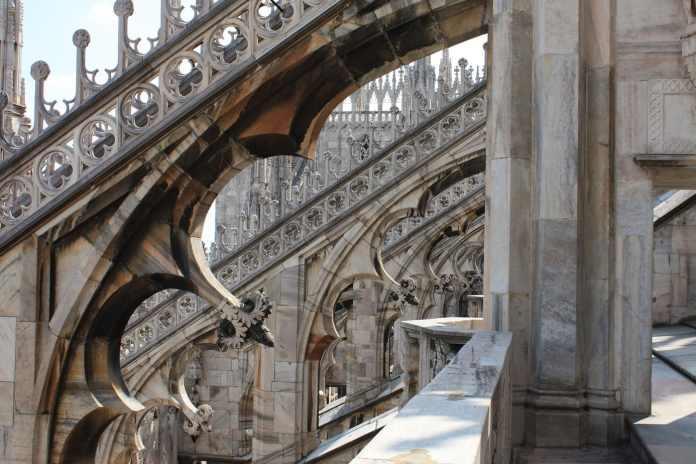 Duomo Milan roof detail