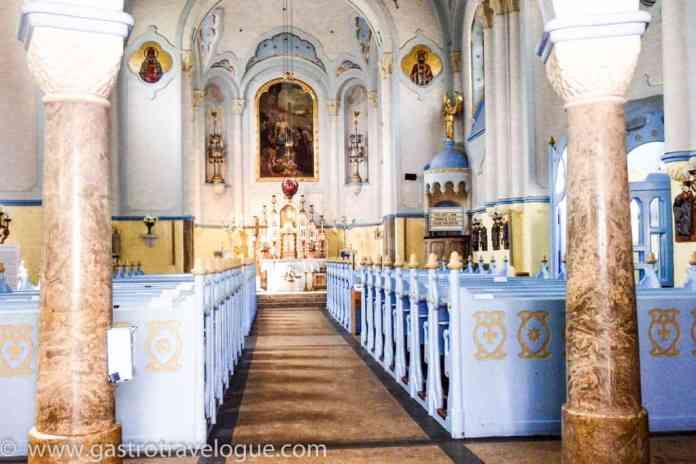 Blue Church Interior Bratislava