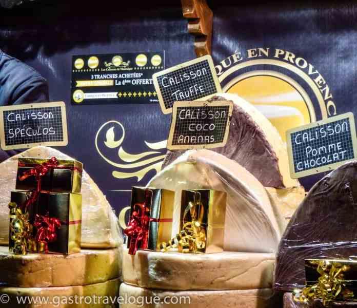 Calisson at Paris Christmas Market