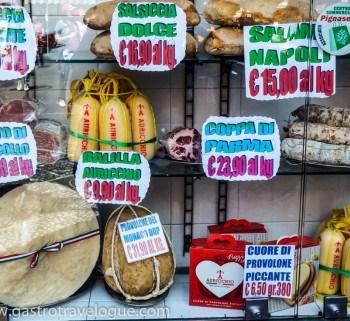 Gourmet treats Italy