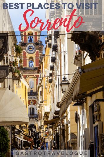 Sorrento is the gateway to the beautiful Amalfi Coast. #tips - #sorrento #amalfi #italy #travel #traveltips #thingstodo #foodies #travelblogger #food #sightseeing #limoncello #whattosee #whattodo