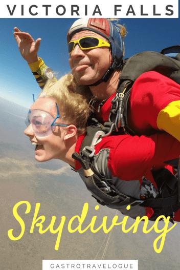 Skydiving at Victoria Falls