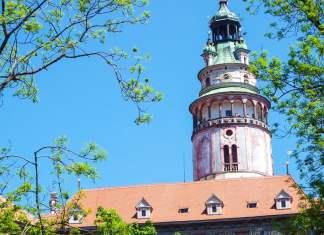Castle Tower in Cesky Krumlov