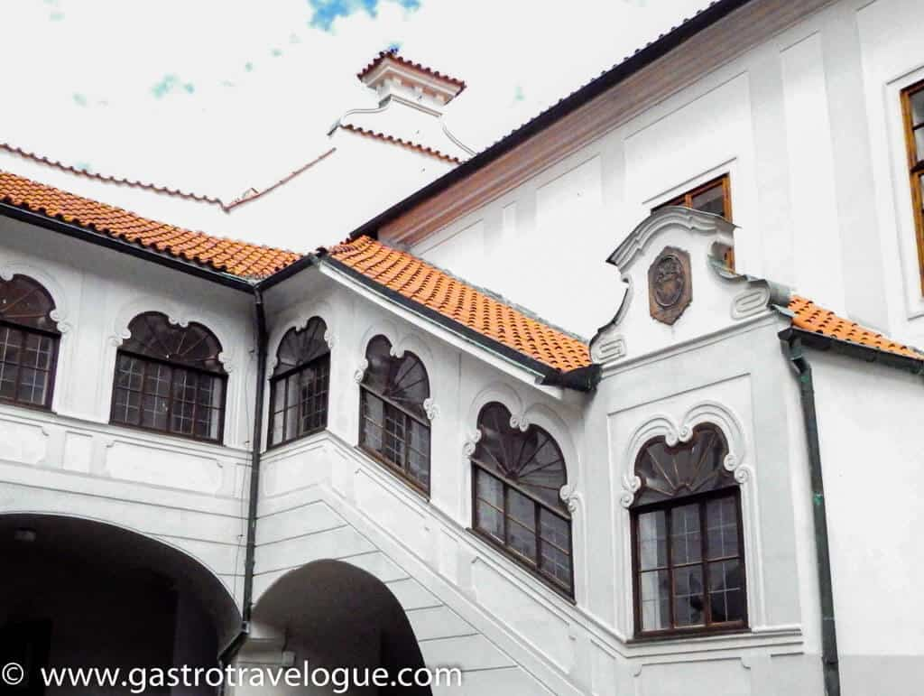 The old monastery Cesky Krumlov