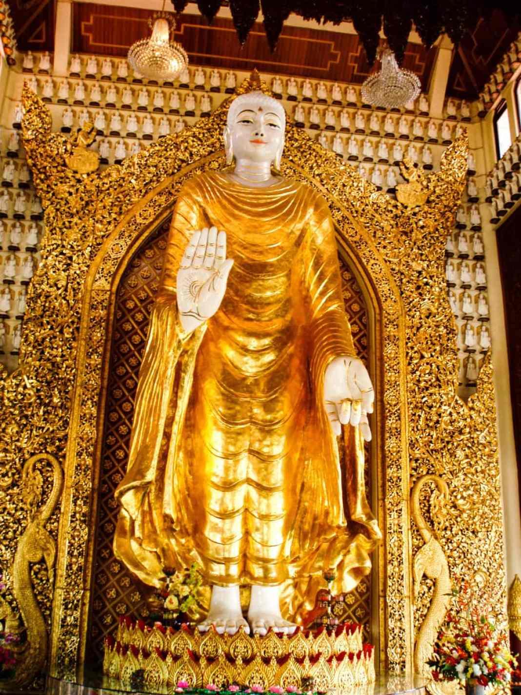 Interior Burmese Temple Penang