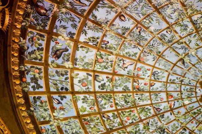Painted ceiling panel Uffizi