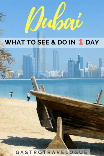 See Dubai in one day