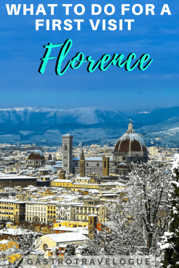 Visiting Florence for the first time - #italy #florence #whattosee #whattodo #travel #foodie #markets #shopping #art #uffizi #firenze #italie #citybreak #travelguide #duomo #mercato