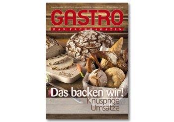 GASTRO das Fachmagazin 08-09/17