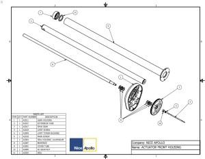 Replacement Parts Diagram  Apollo 15001600 Parts Diagram