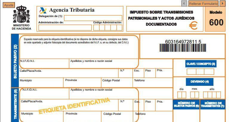 nueva sentencia impuesto trafico juridico documentado