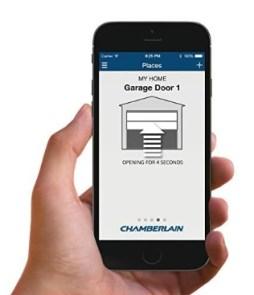 garage door wifi usage