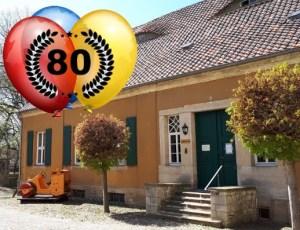 Jubiläumsfest 80 Jahre Bibliothek im Ortsteil Gatersleben