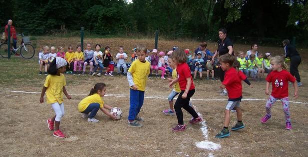 Gatersleben Kindertagestätte Kita Sonnenschein Kinderfußball Kinderfussball WM