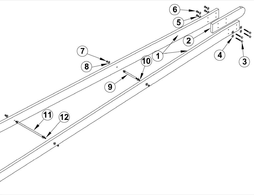 Osco Sg Barrier Opener Osco Gate Arm Assembly Parts