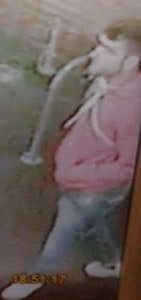 An image of the second man believed to be in connection with the incident.