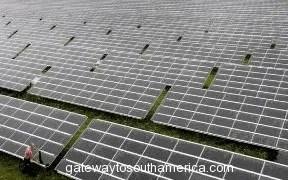 Latin America's Largest Solar Plant