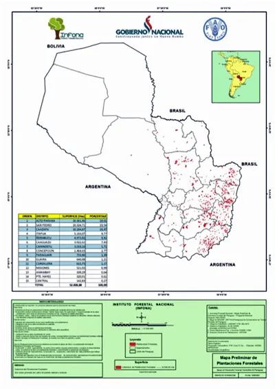 Forestry development in Paraguay