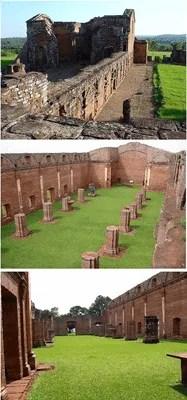 Ruins of Jesuit missions
