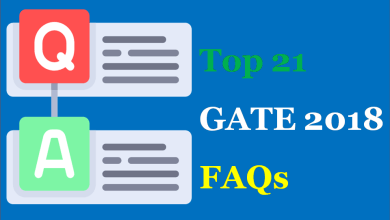 Photo of Top 21 GATE 2018 Frequently Asked Questions (FAQs)