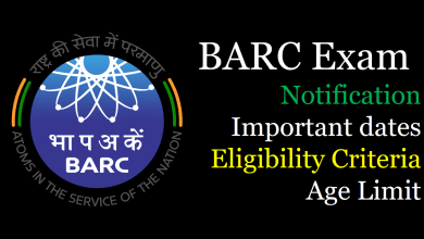 Photo of BARC Exam 2020 Notification, Eligibility, Exam Dates for Scientific Officer