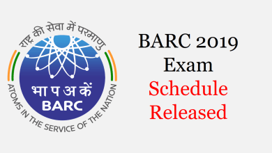 Photo of BARC Exam Schedule 2020