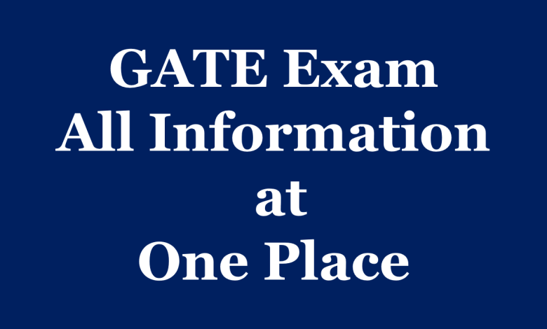 GATE Information and Guidance