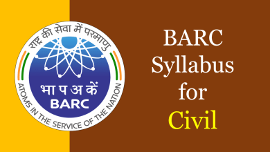 Photo of BARC Syllabus for Civil 2020