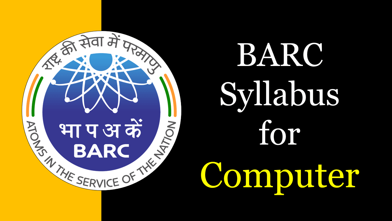 BARC Syllabus for Computer