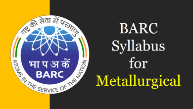 Photo of BARC Syllabus for Metallurgical