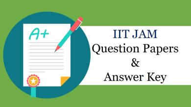 Photo of IIT JAM 2019 Answer Key Released