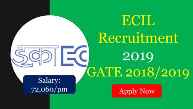 Photo of ECIL Recruitment 2019 | GATE 2018/2019