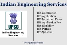 Photo of IES 2020 – UPSC
