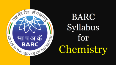 barc syllabus for chemistry