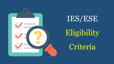 Photo of IES/ESE 2021 Eligibility Criteria