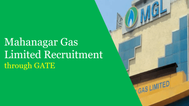 mgl recruitment through GATE 2019
