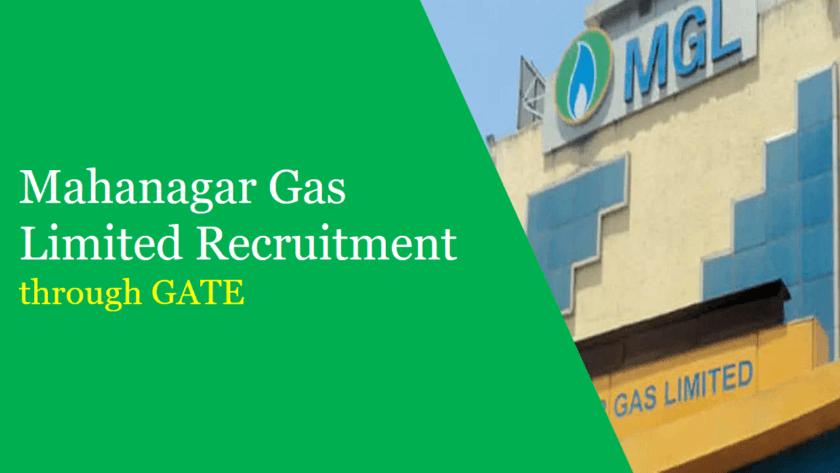 mgl recruitment through GATE 2019