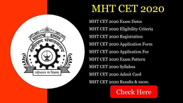 MHT CET 2020