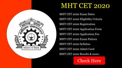 Photo of MHT CET 2020